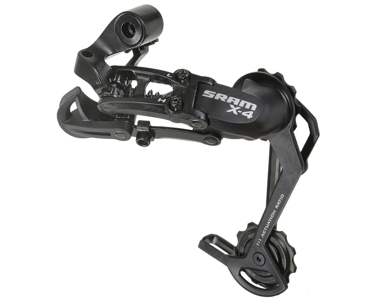 SRAM X-4 7/8/9-Speed Rear Derailleur (Long Cage) (Black)