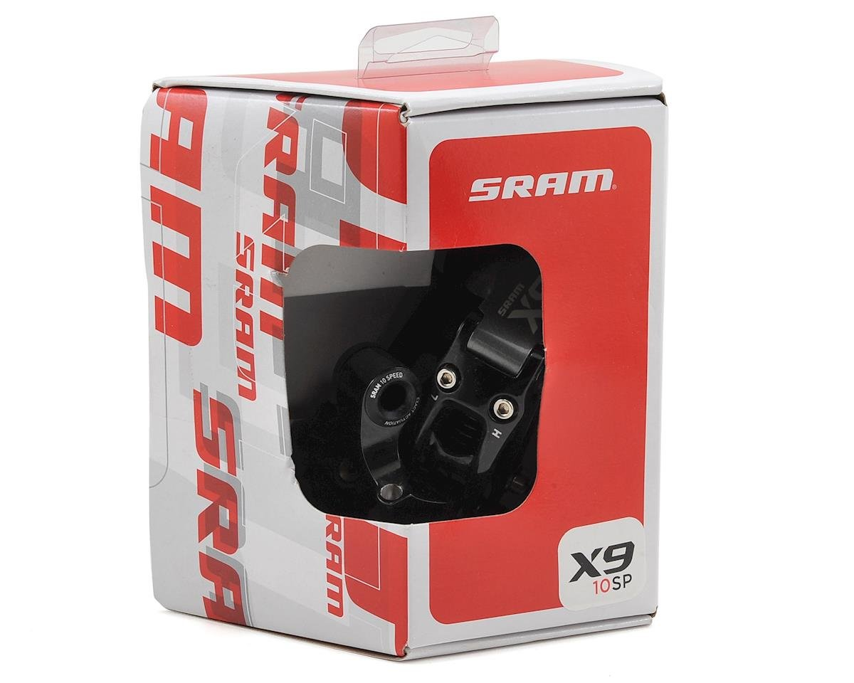 SRAM X9 10-Speed Rear Derailleur (Medium Cage) (Carbon/Gray)