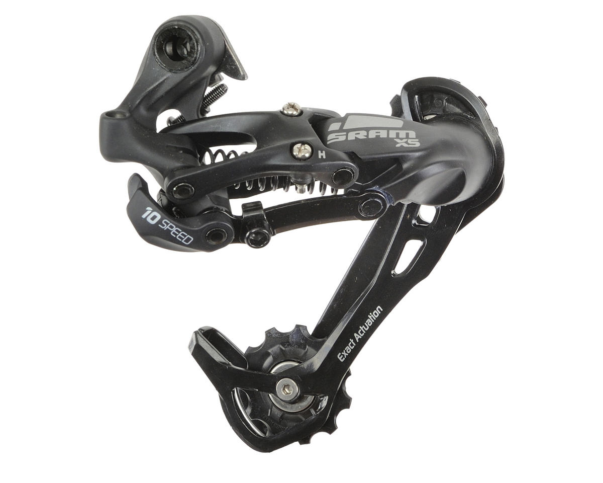 SRAM X-5 Rear Derailleur 10-Speed (Long Cage) (Black)