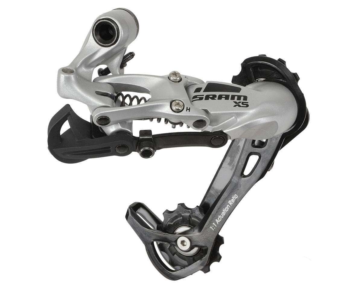 SRAM X5 9-Speed Rear Derailleur (Long Cage) (Silver)