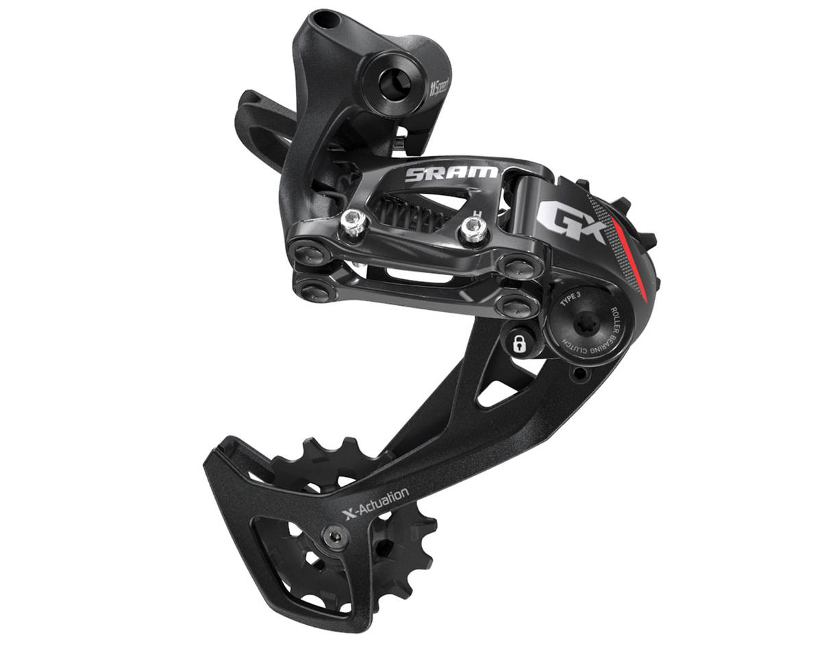 SRAM GX 2x11 Type 3.0 Rear Derailleur (Long Cage) (Red)