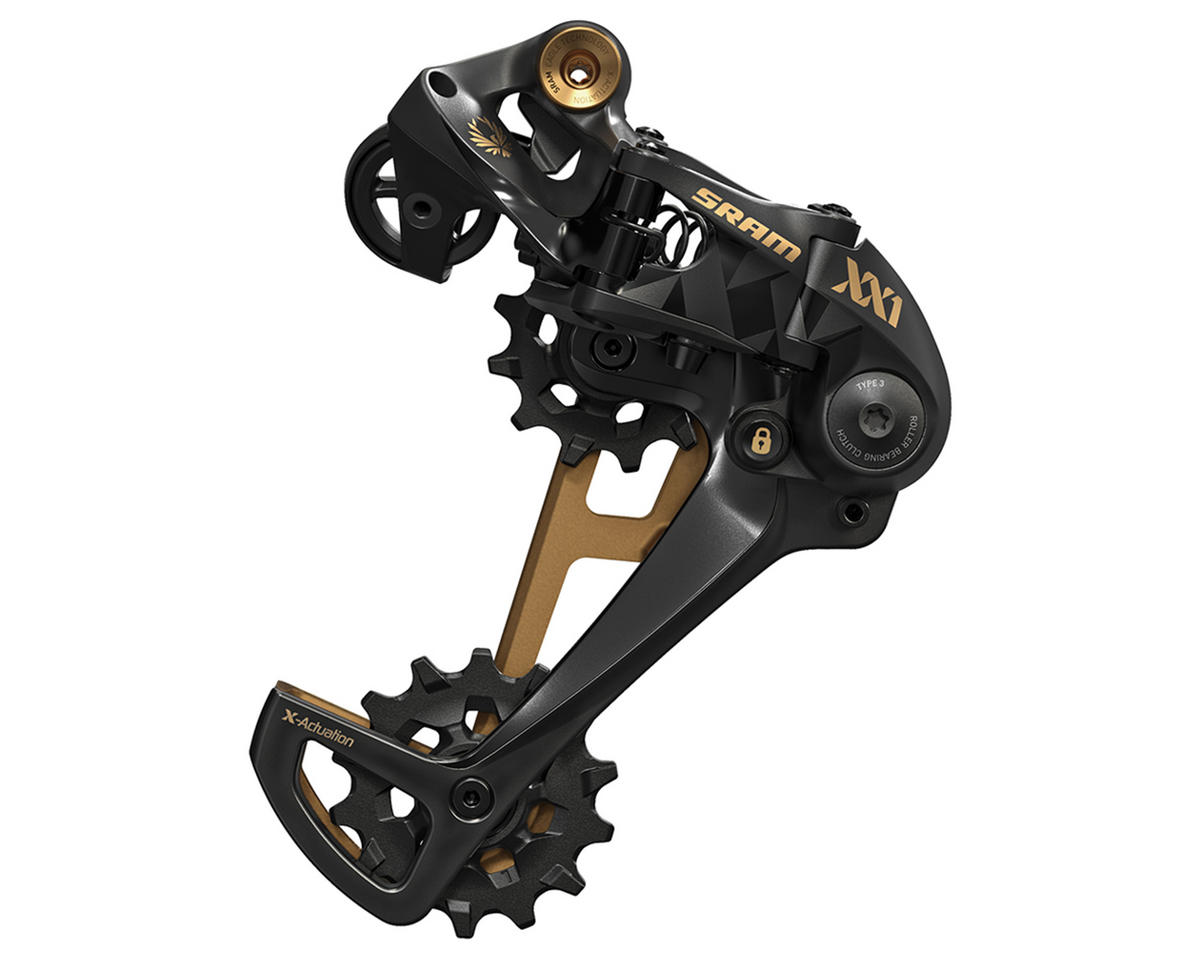 SRAM XX1 Eagle 12-Speed Type 3 Rear Derailleur (Gold)