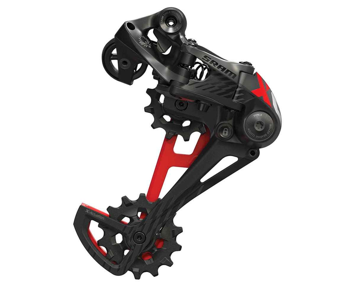 SRAM X01 Eagle 12 Speed Rear Derailleur (Red)