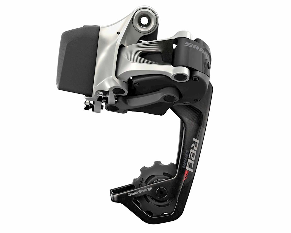 Red eTAP Rear Derailleur w/ Battery (Medium WiFli) (32T max)