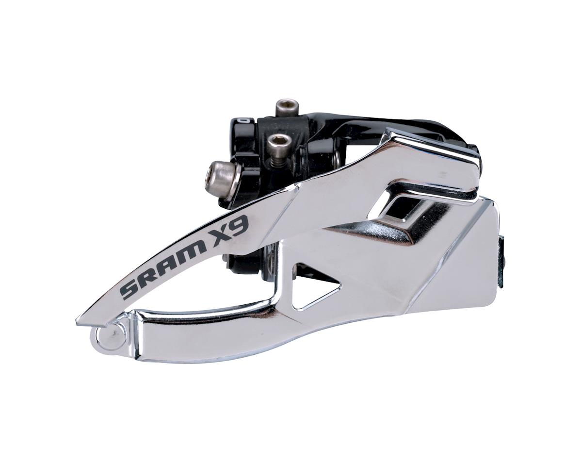 SRAM X9 2 X 10 Bottompull 31.8/34.9Mm Low Clamp Front Derailleur