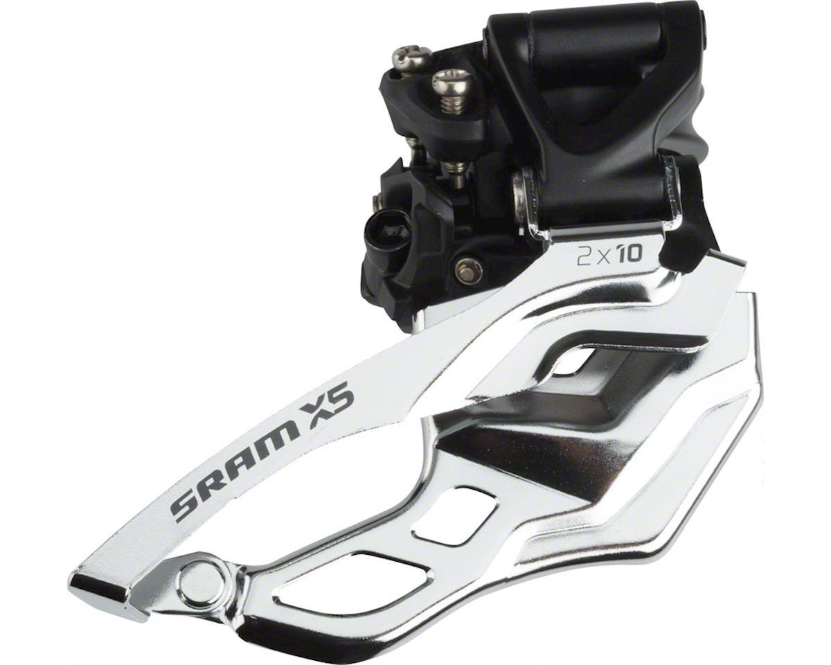 e02bffd5a22 SRAM X5 2 x 10 Top Pull High Clamp Front Derailleur (31.8/34.9mm ...