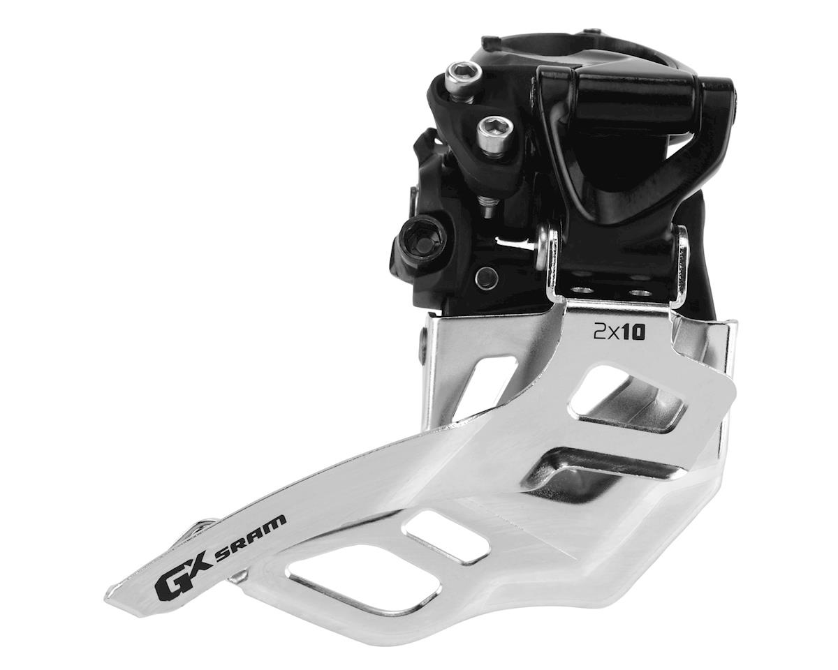 SRAM GX 2x10 High Clamp Front Derailleur - Bottom Pull