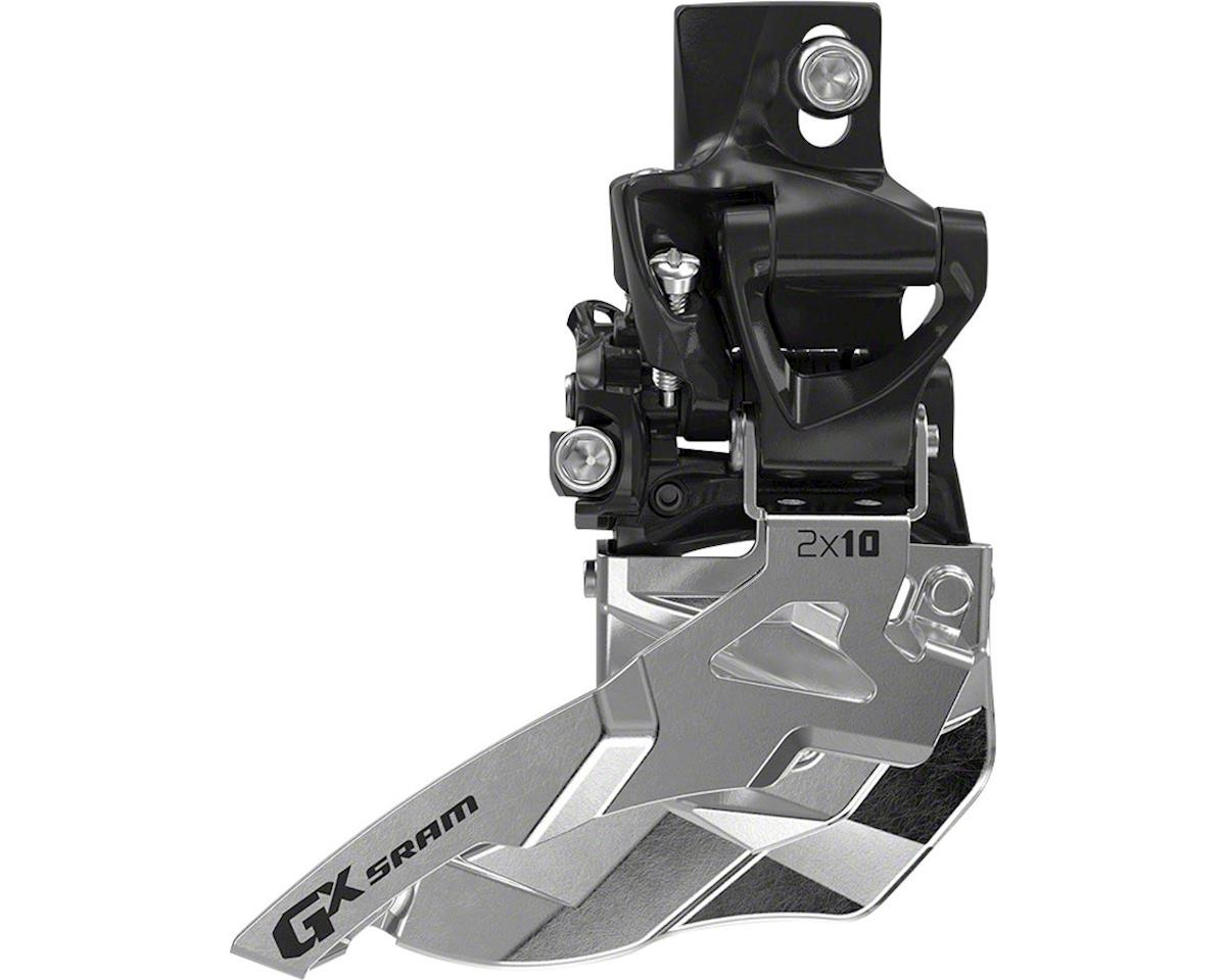 SRAM GX 2 x 10 Top Pull High Direct Mount Front Derailleur (34T Max)