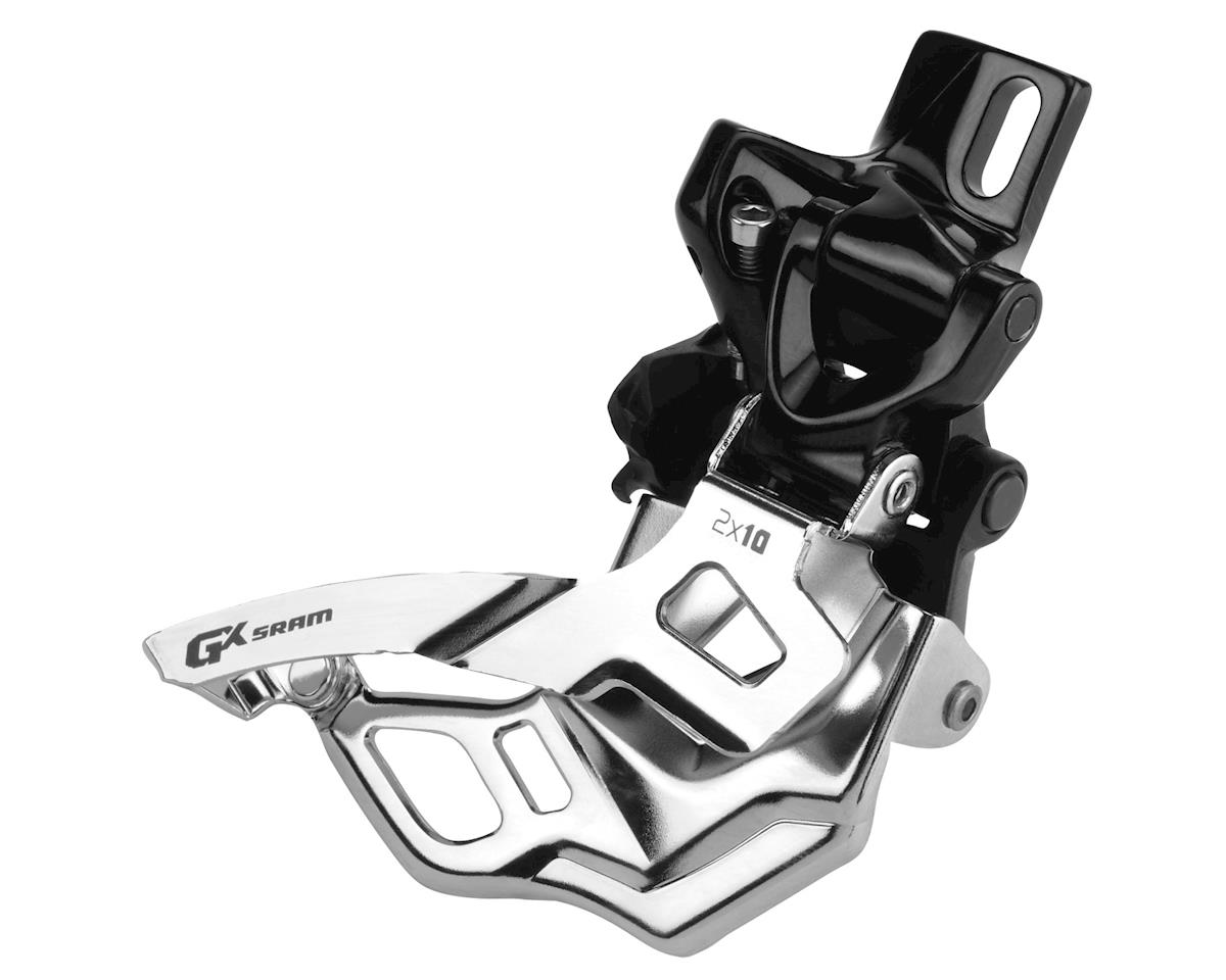 SRAM GX 2 x 10 Top Pull High Direct Mount Front Derailleur (38/36T Max)