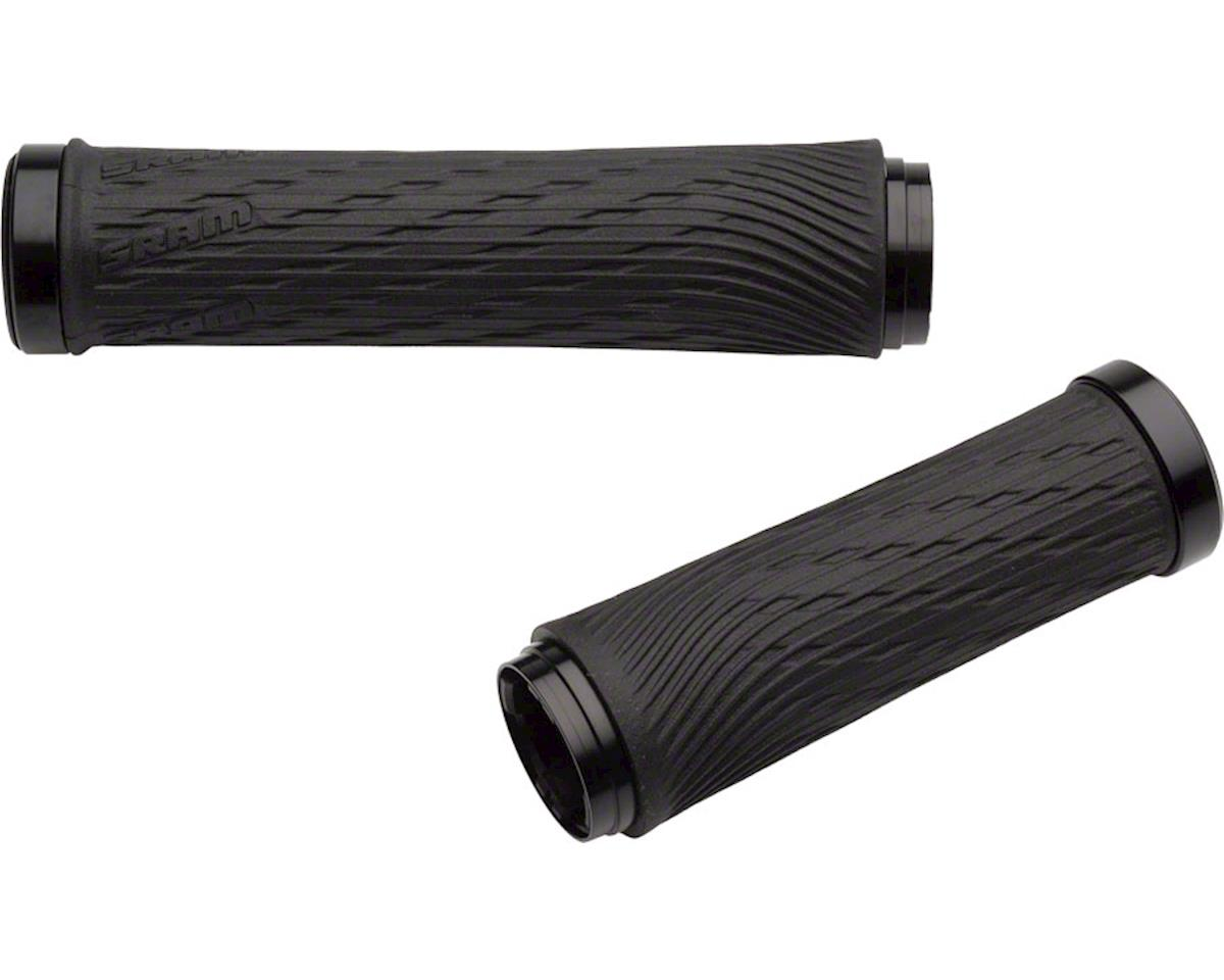 SRAM XX1 Locking Grips for GripShift - 100mm Right / 122mm Left with Black Clamp