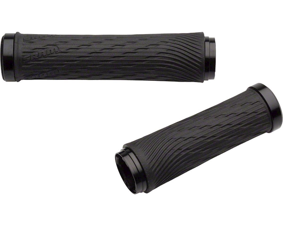 SRAM XX1 Grips - Black, Lock-On