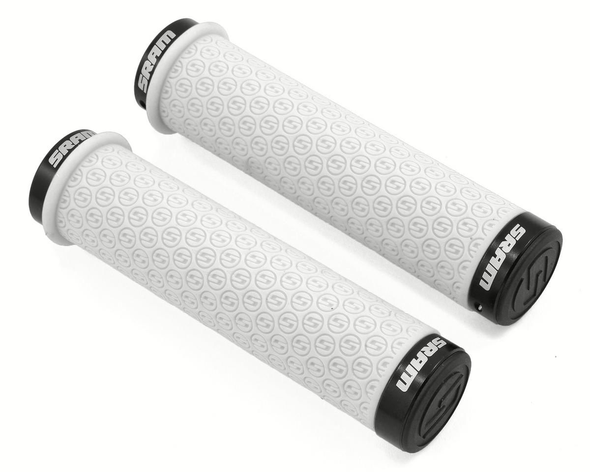 SRAM Locking DH Silicone Grip Set (130mm) (White)