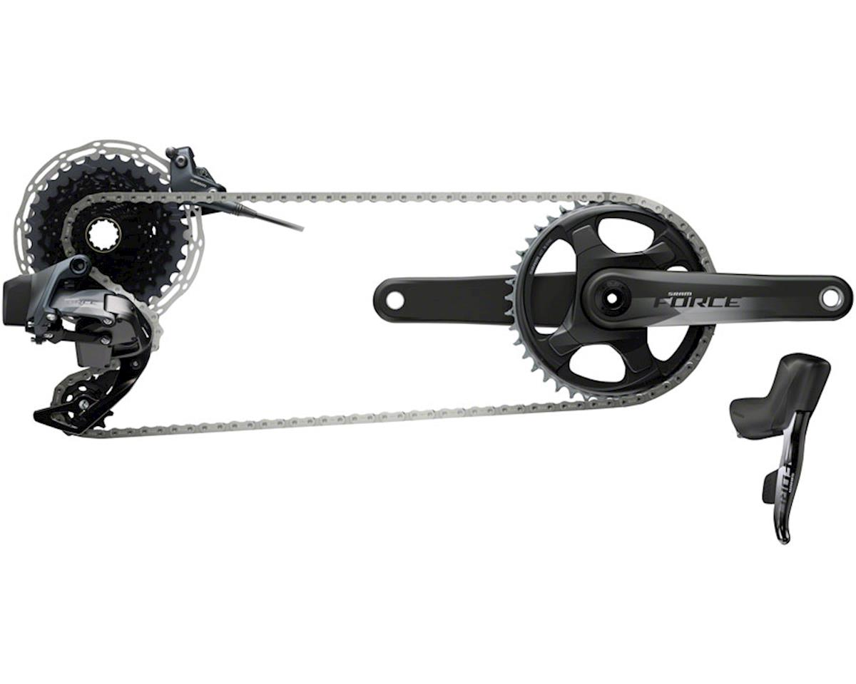 SRAM Force eTap AXS 1X Wireless Flat-Mount HRD Disc Groupset