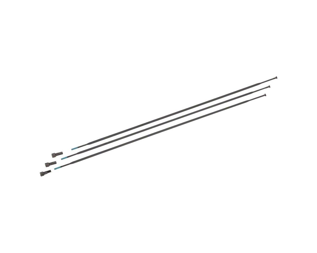 "SRAM Spokes/Nipples 3-pack 294mm Straight-Pull External Black, Roam 30, 29"""