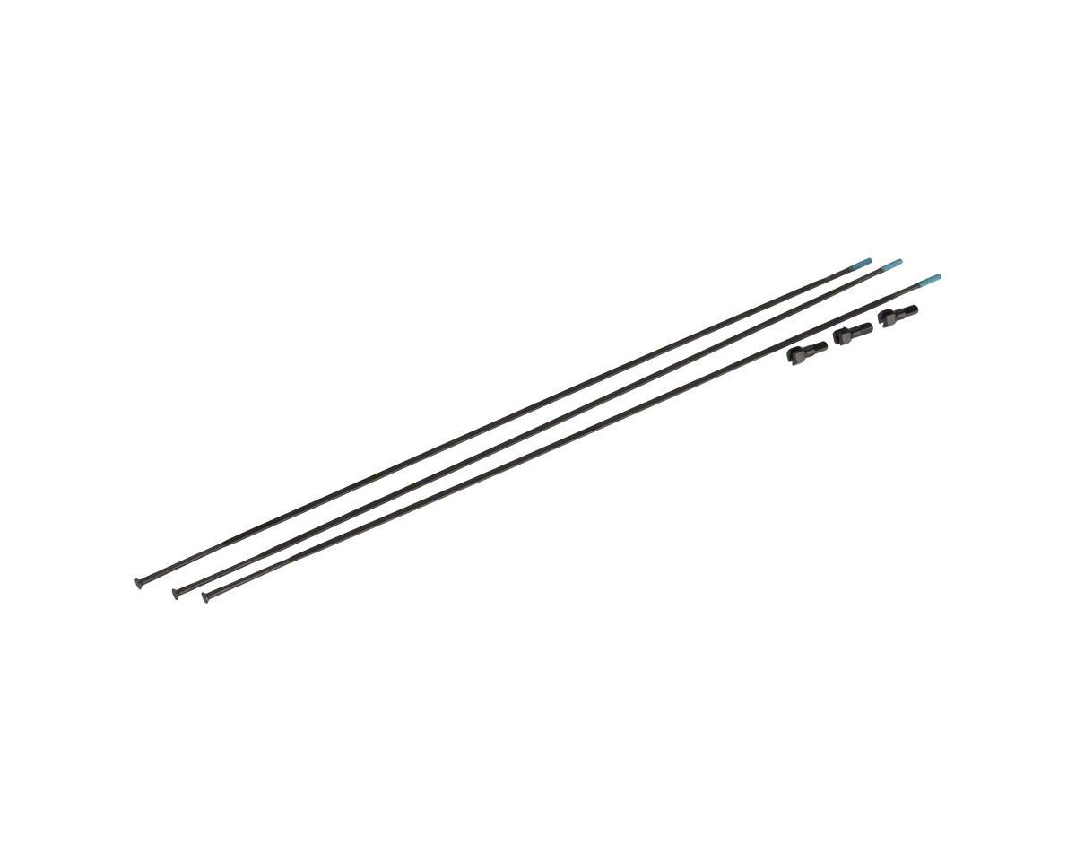 SRAM Spokes/Nipples 3-pack 276mm Straight-Pull External Black, Roam 40/Rail 40,