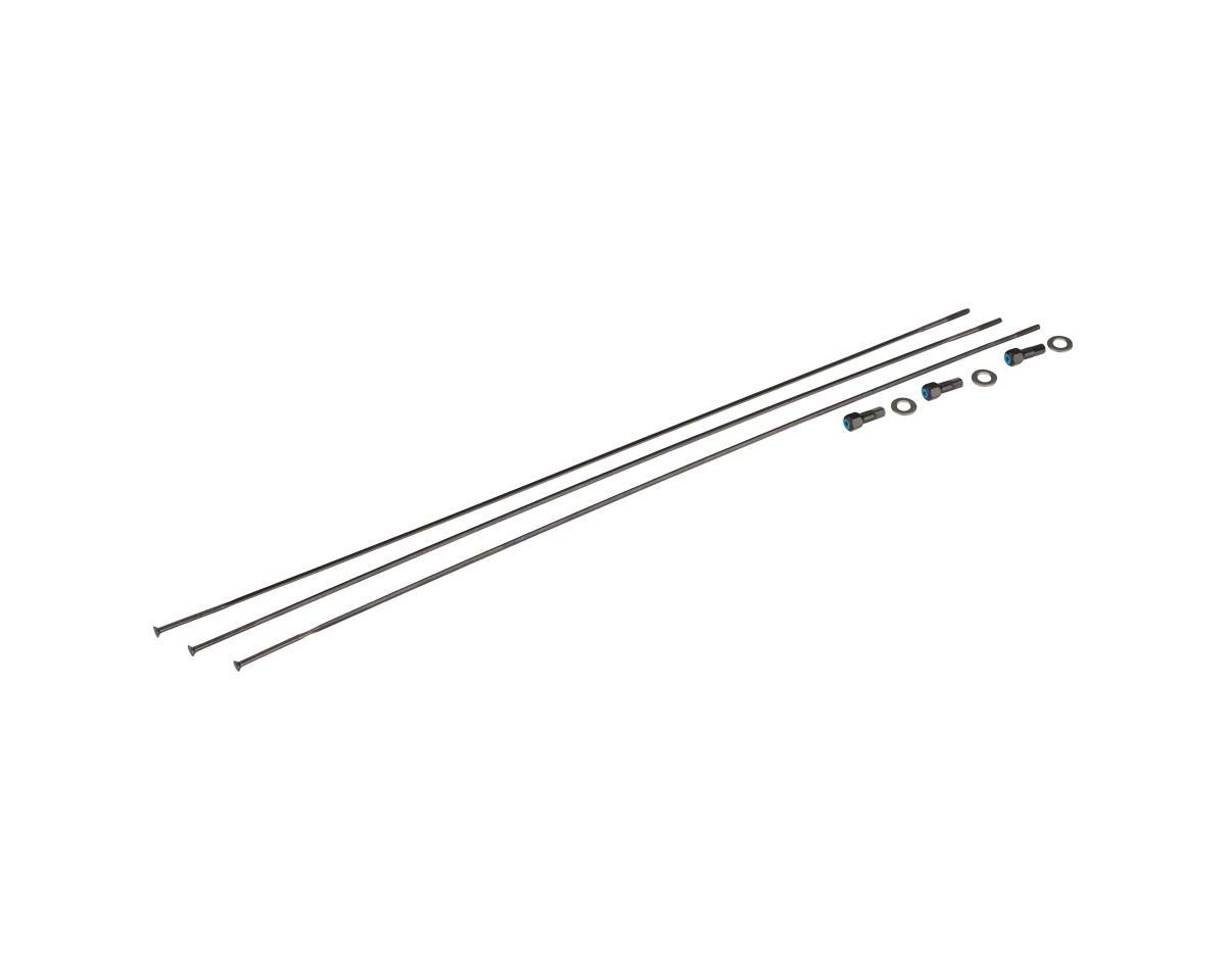 SRAM Spokes/Nipples/Washers 3-pack 298mm CX-Ray Straight-Pull External Black, Ri