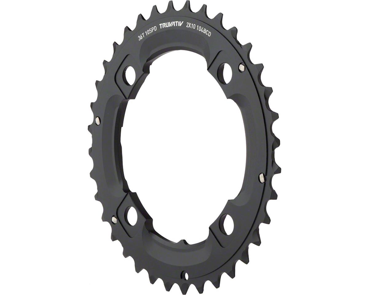 SRAM SRAM/Truvativ X0 X9 36T 104mm 10-Speed Chainring, Use with 22T