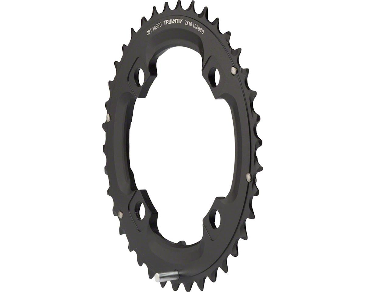 SRAM SRAM/Truvativ X0 and X9 38T 104mm BCD 10 Speed GXP Chainring with Long Over-shif