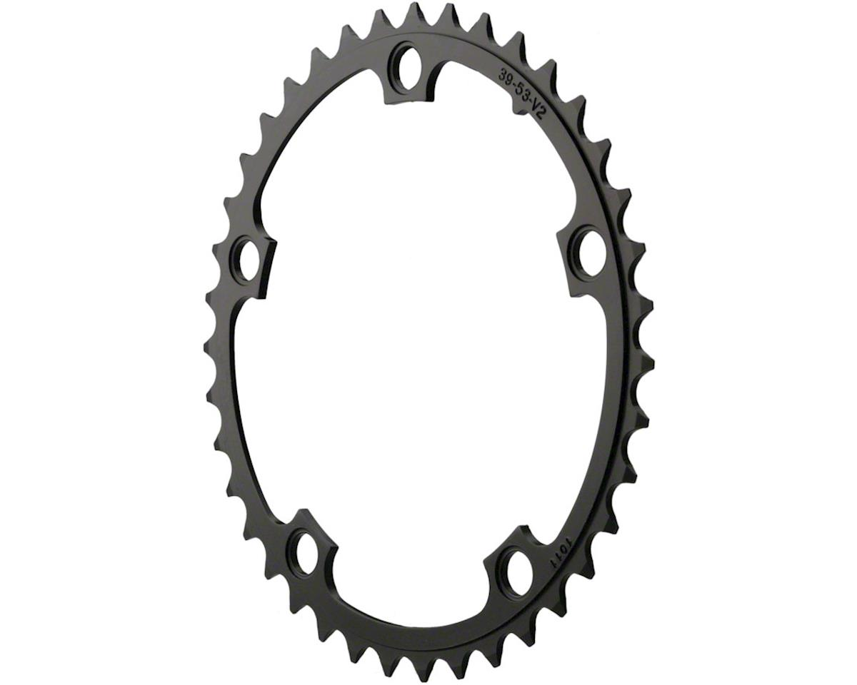 SRAM Red/Force/Rival/Apex 39T 10 Speed 130mm Black Chainring use w/ 48 or 53