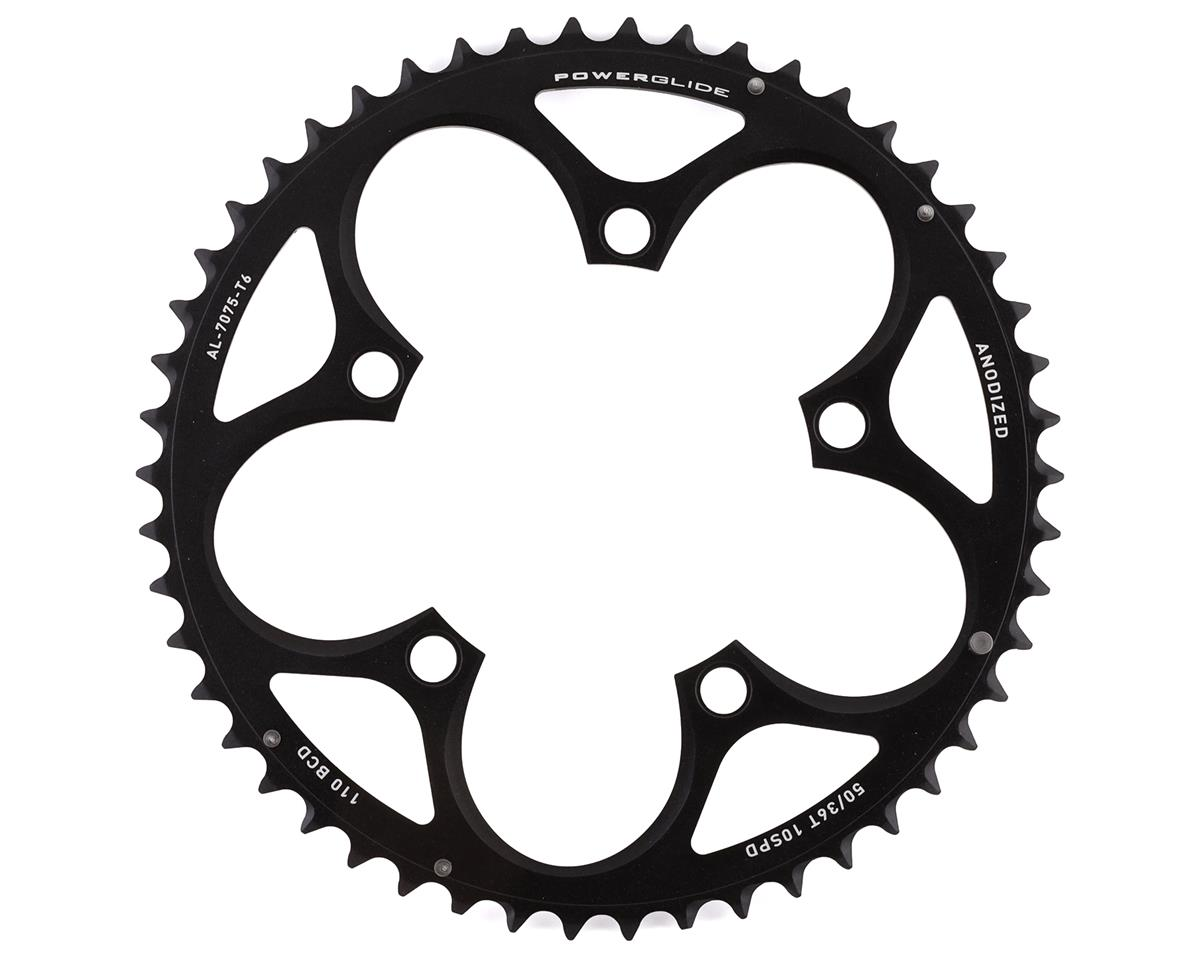 SRAM Force/Rival/Apex 50T 10-Speed 110mm Black Chainring, Use with 36T