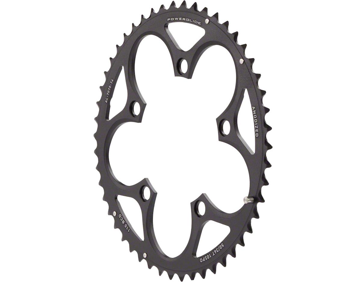 SRAM Force/Rival/Apex 50T 10-Speed 110mm Black Chainring, Use with 34T
