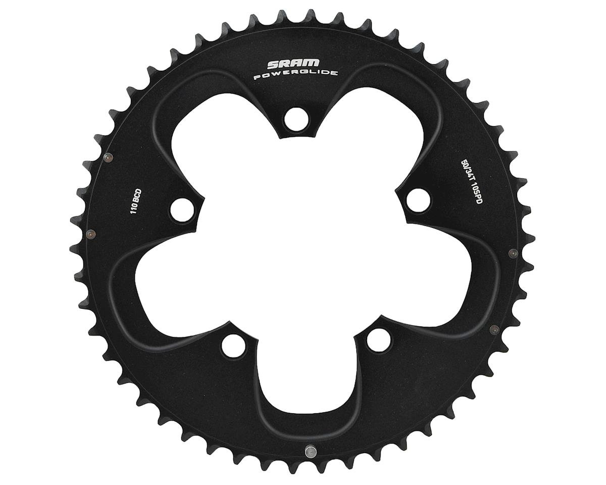 SRAM Red/Force 10-Speed Outer Chainring (110mm) (Black) (50T)