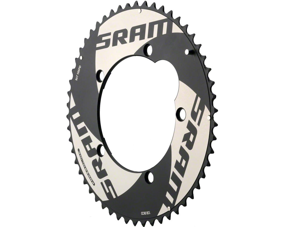 SRAM 54T 10-Speed 130mm Black TT chainring, Use with 42T