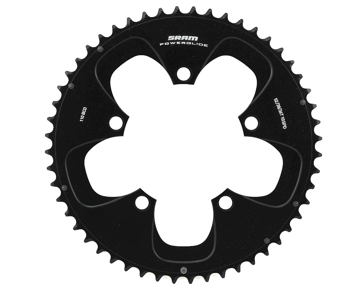 SRAM Red/Force 10-Speed Outer Chainring (110mm) (Black) (52T)