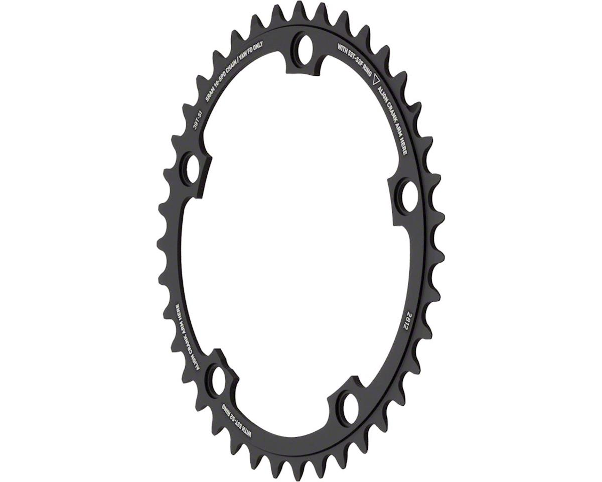 SRAM Red Yaw 39T 10-Speed Hidden Bolt Chainring, Use with 53T
