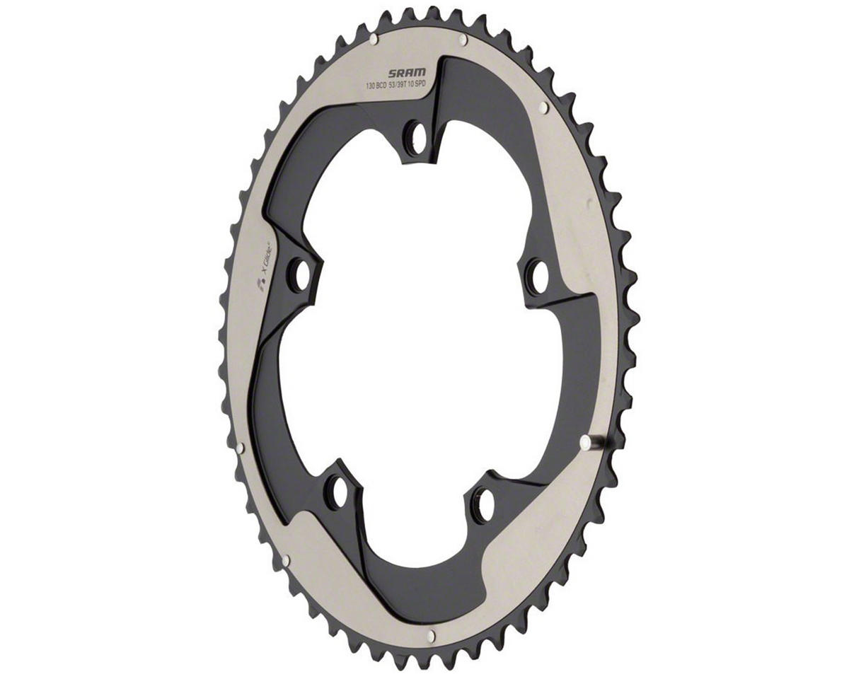 SRAM Yaw 53T 10-Speed 130mm (Non-Hidden Bolt Chainring)