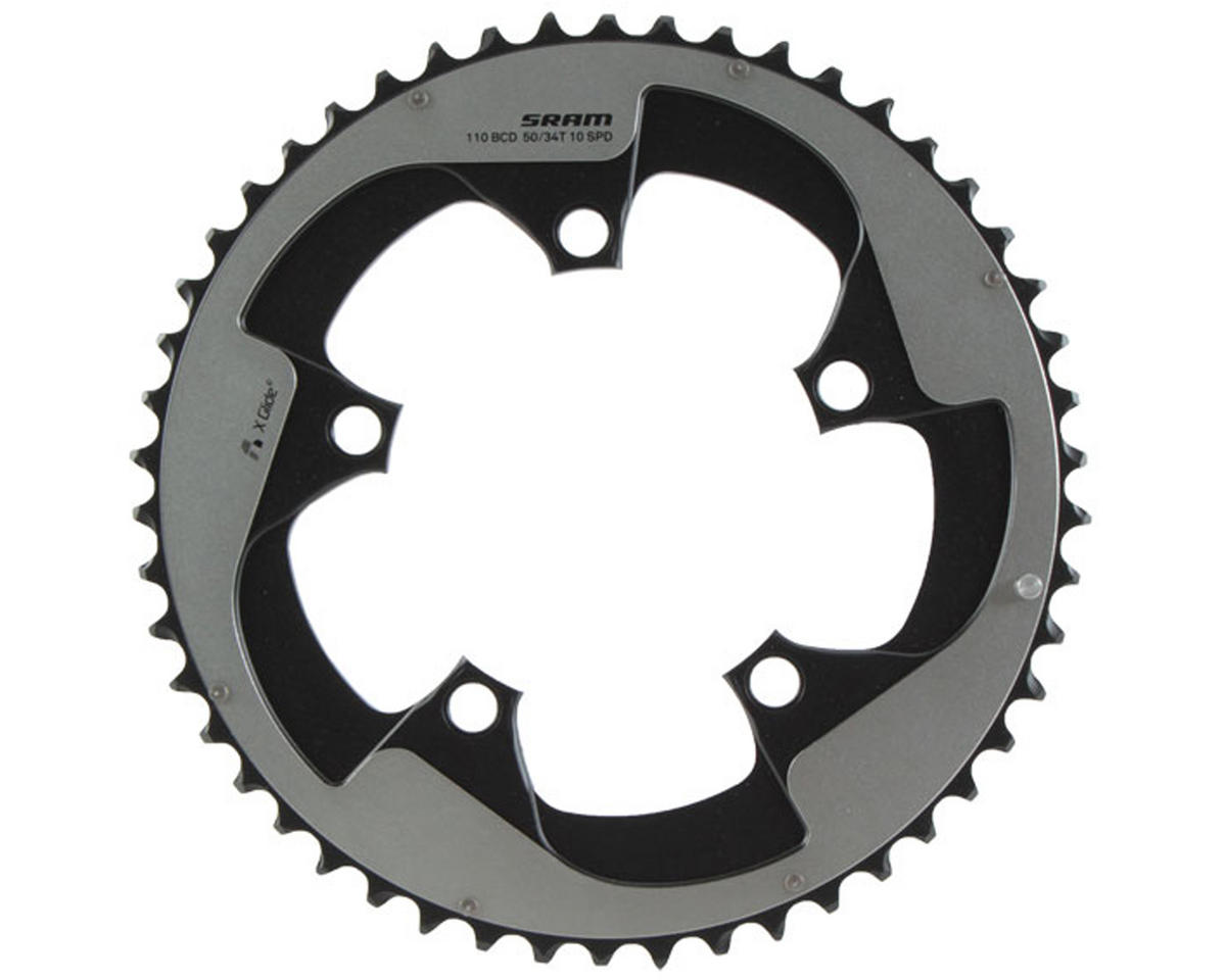 SRAM Yaw 10-Speed Chainring (Non-hidden Bolt) (110mm) (50T)