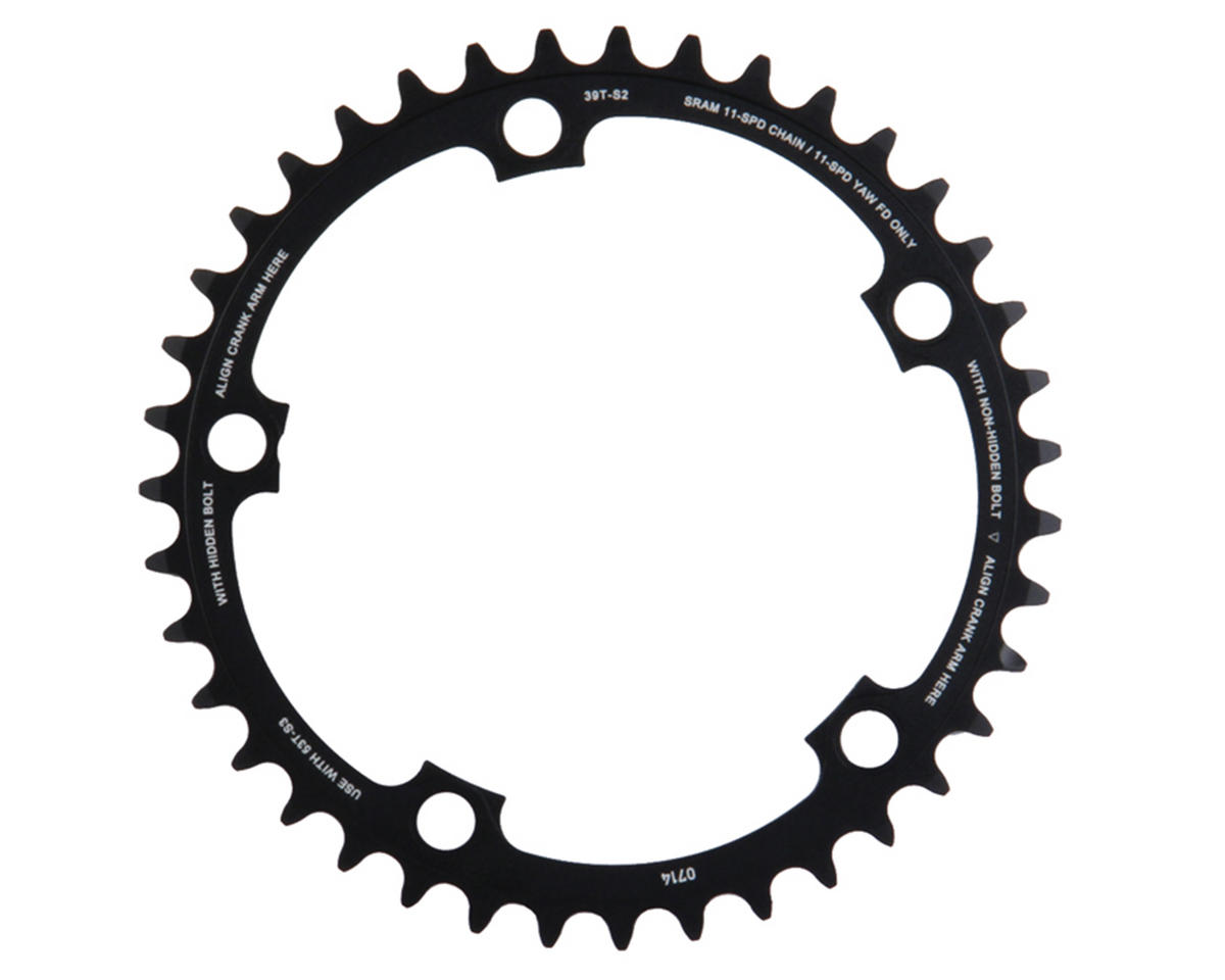 SRAM 11-Speed 130mm Inner Chainring (Black) (39T)