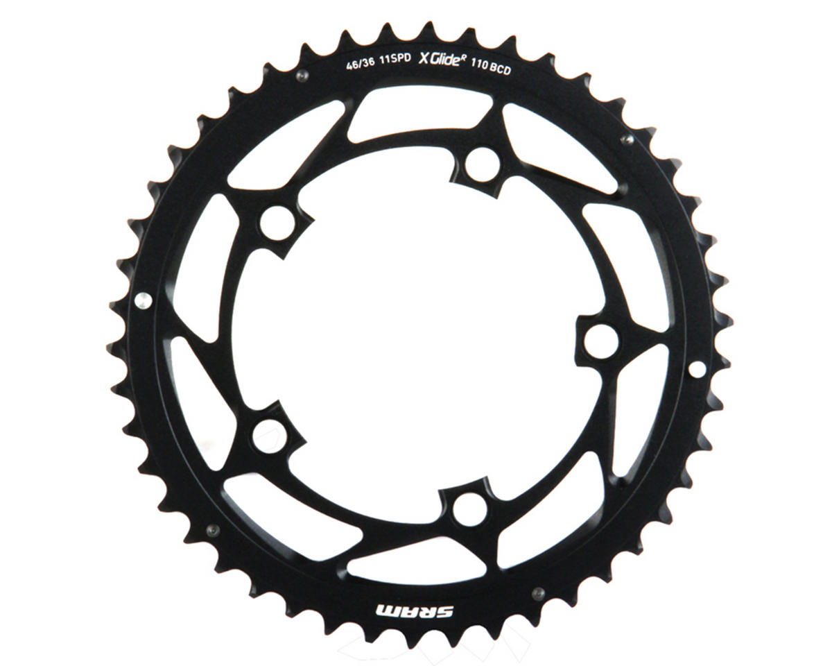 SRAM 11-Speed 110mm Outer Chainring (Black) (46T)