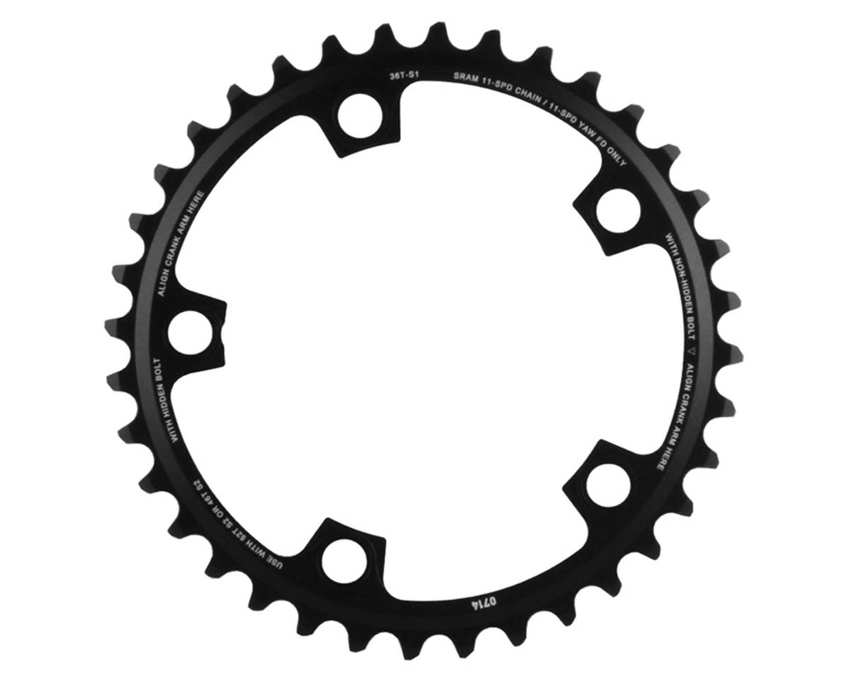 SRAM 11-Speed 110mm Inner 5 Bolt Chainring (Black) (36T)