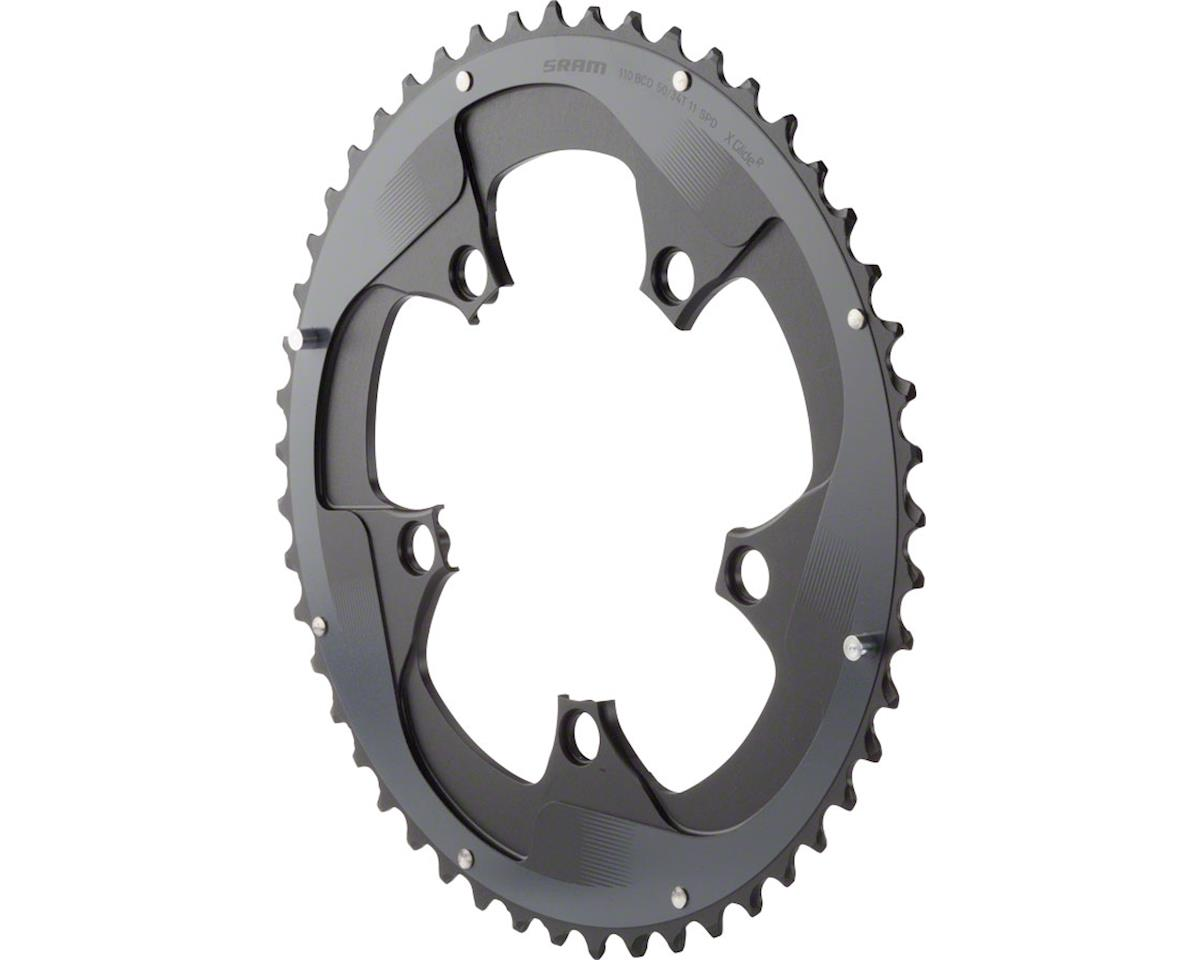 SRAM Force 22 52T 110mm BCD YAW Chainring Gray, Use with 36T