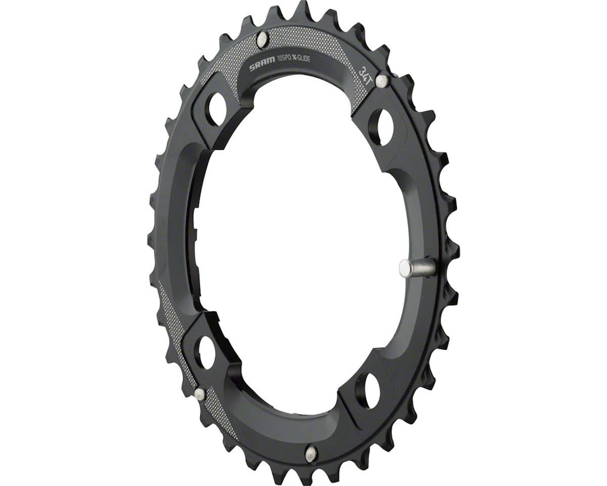 SRAM 34 Tooth 104mm BCD Outer Chainring With Medium Overshift Pin, Use with 22T