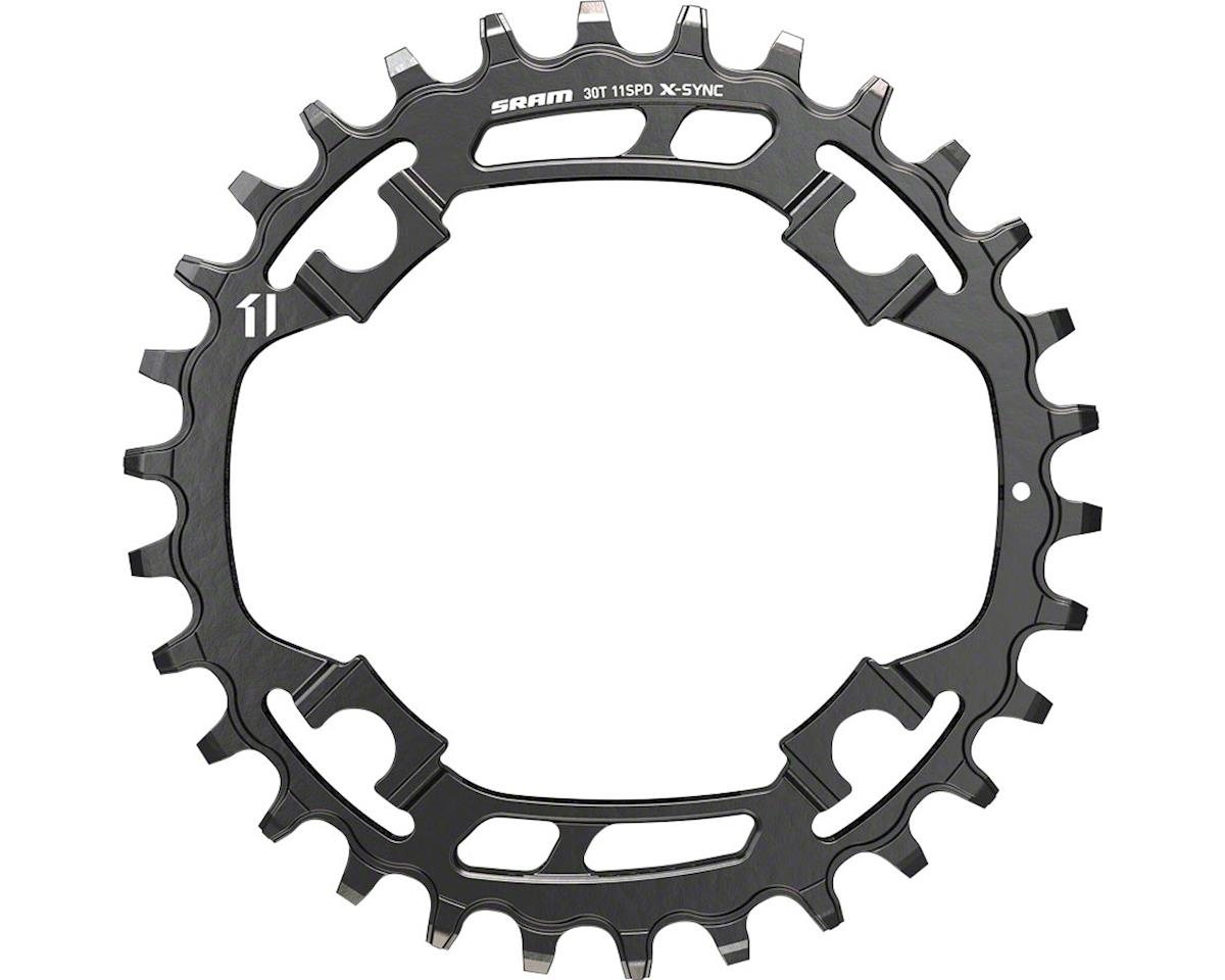 SRAM X-Sync Steel Chainring 30 Teeth x 94mm BCD Black