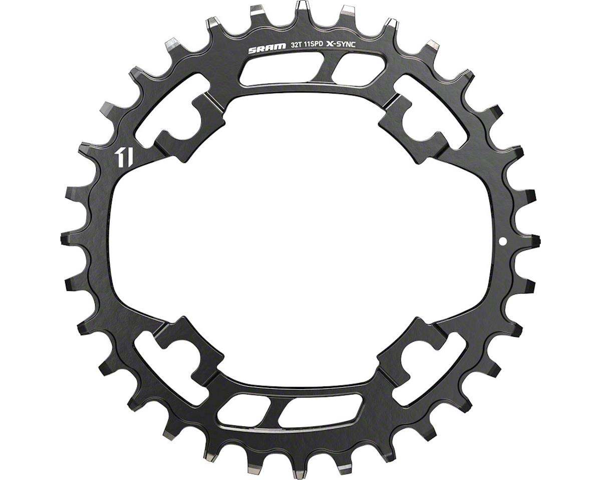 SRAM X-Sync Steel Chainring 32 Teeth x 94mm BCD Black