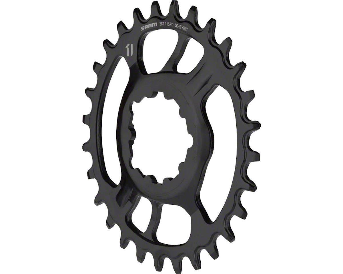 SRAM X-Sync Steel Direct Mount Chainring (6mm Offset) (28T)