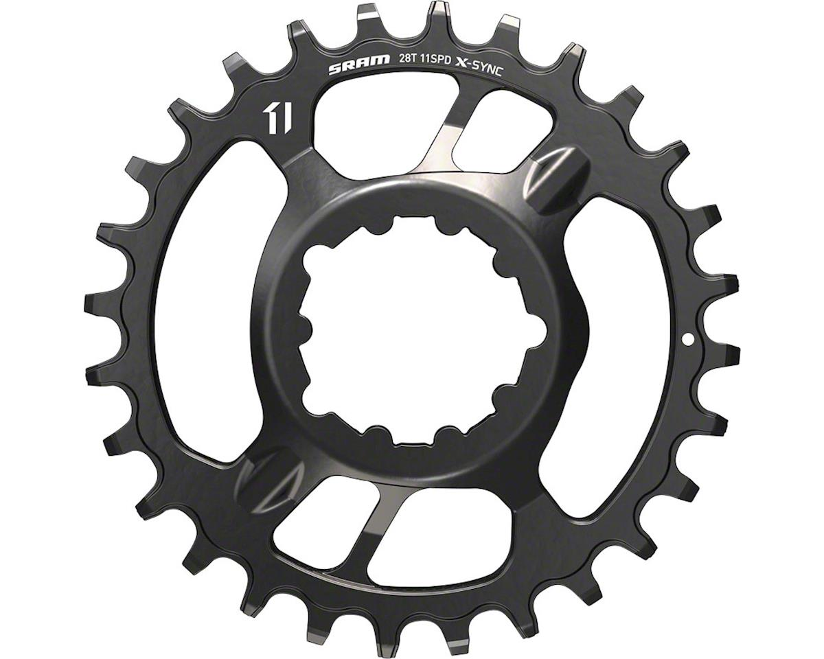 SRAM X-Sync Steel Direct Mount Chainring (3mm Offset) (32T)