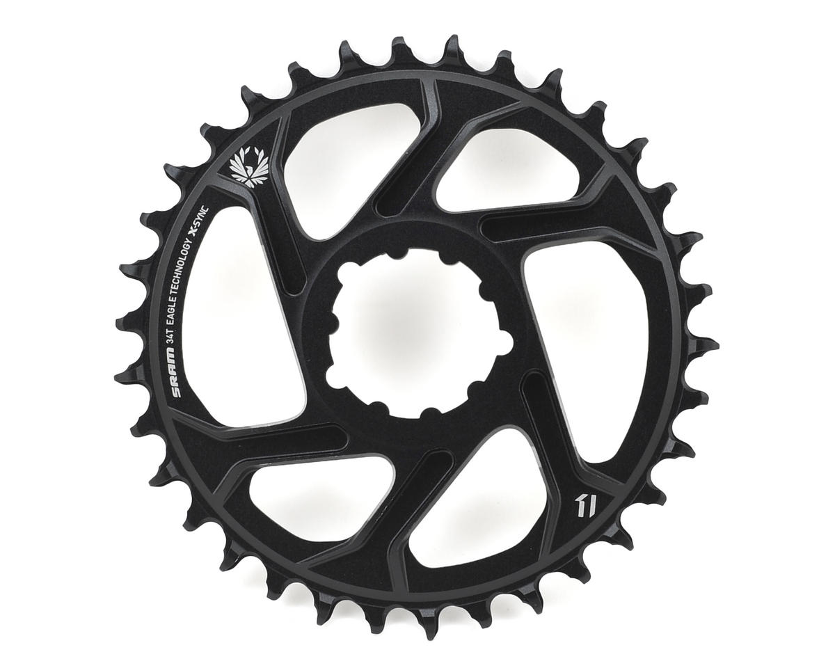 SRAM X-Sync 2 Eagle Chainring Direct Mount 6mm Offset (Black)