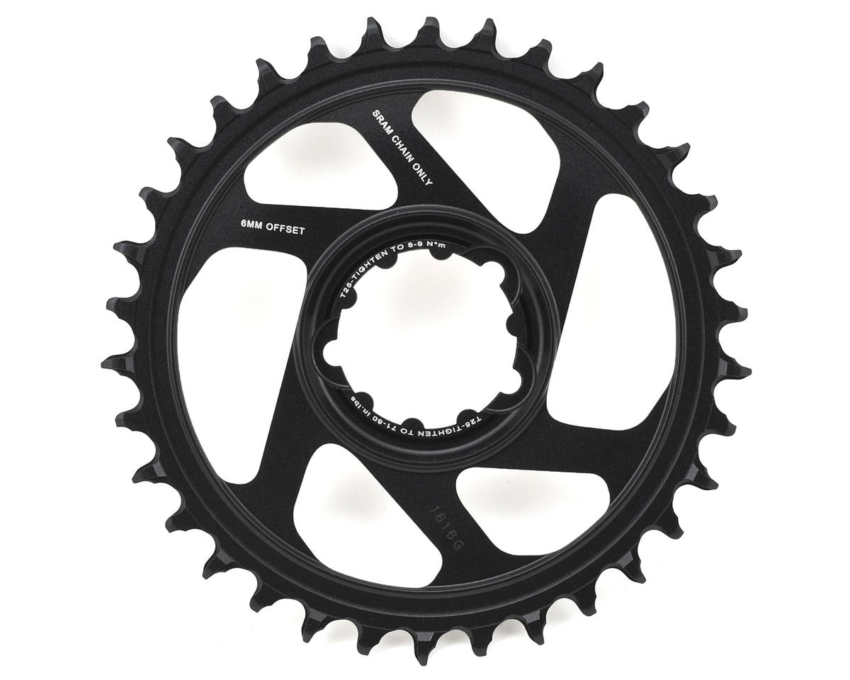 SRAM X-Sync 2 Eagle Chainring Direct Mount 6mm Offset (Black) (34T)