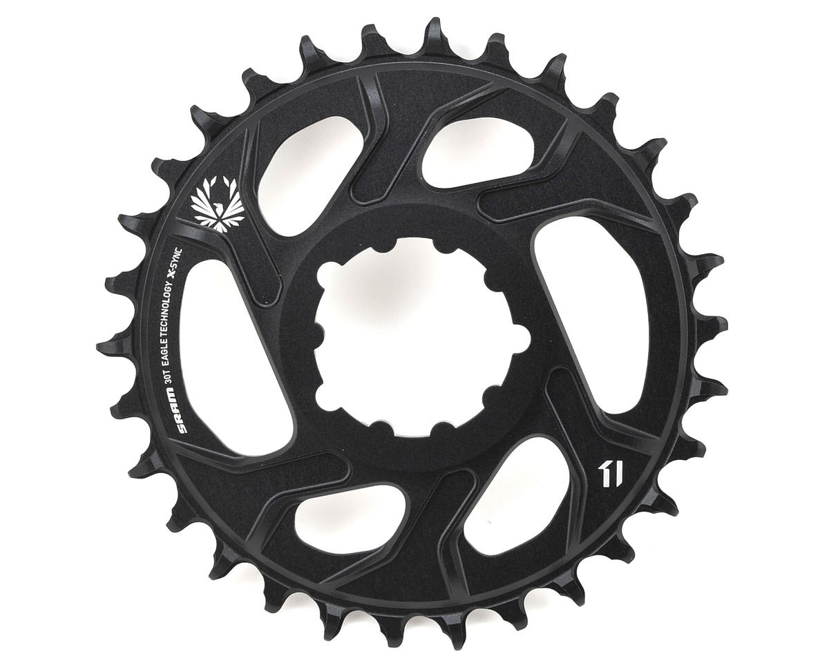 SRAM X-Sync 2 Eagle Chainring 30T Direct Mount 3mm Offset Boost Black