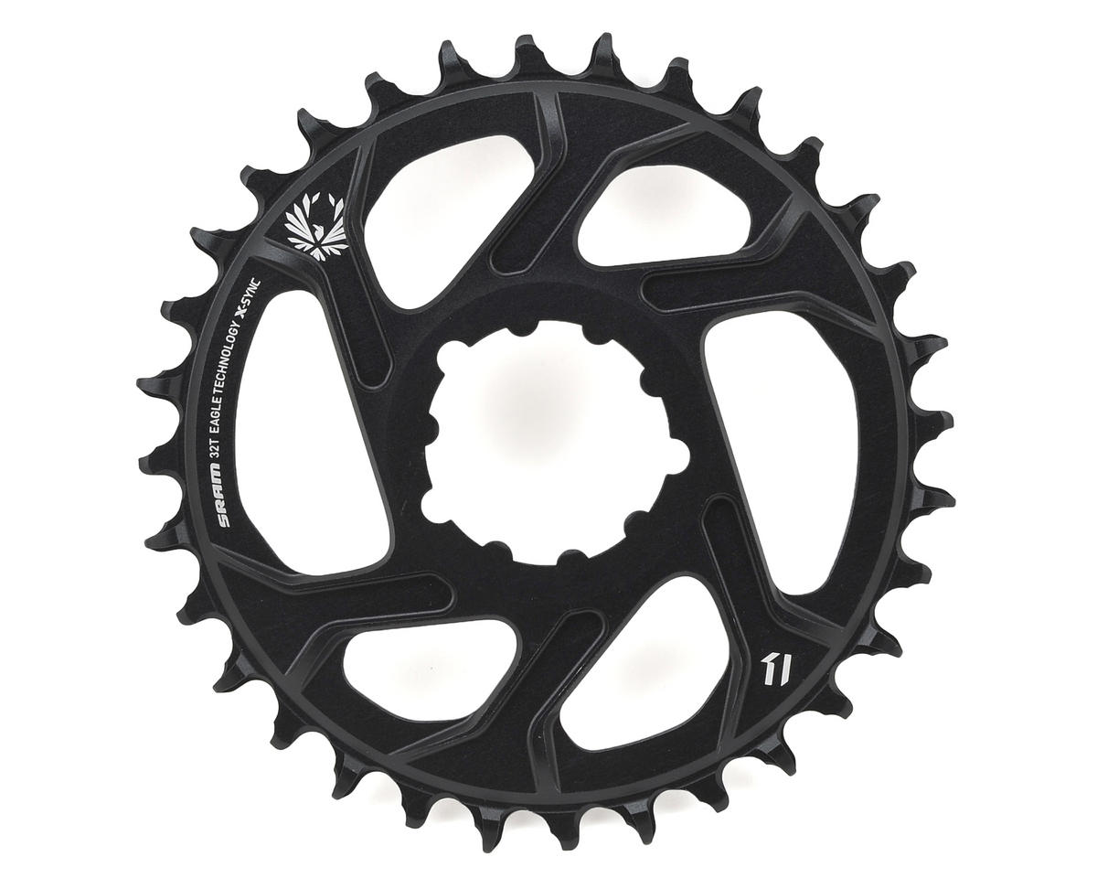 SRAM X-Sync 2 Eagle Chainring Direct Mount BOOST 3mm Offset (Black) (32T)