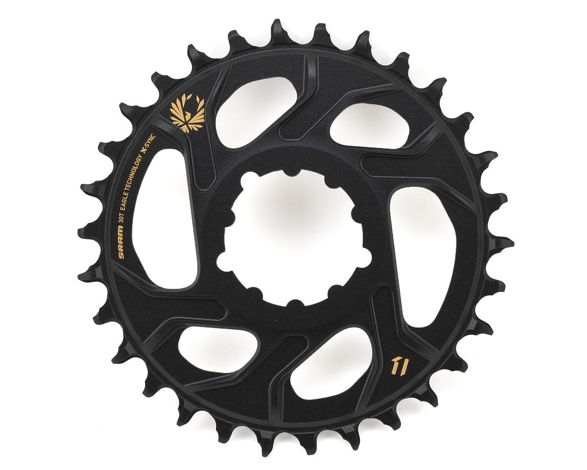 SRAM X-Sync 2 Eagle Chainring Direct Mount BOOST 3mm Offset (Black/Gold) (30T)
