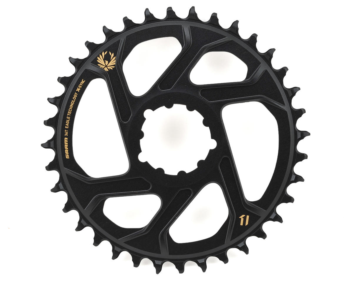 SRAM X-Sync 2 Eagle Chainring Direct Mount BOOST 3mm Offset (Black/Gold) (36T)