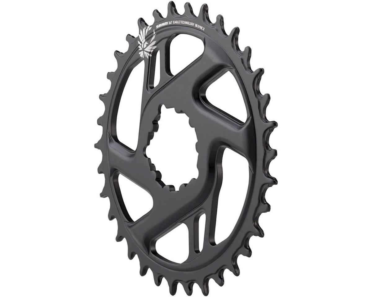 SRAM X-Sync 2 Eagle Cold Forged Aluminum Direct Mount Chainring (3mm Offset) (34T)