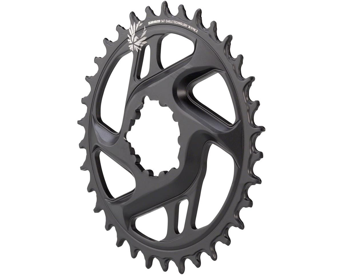 SRAM X-Sync 2 Eagle Cold Forged Aluminum Direct Mount Chainring (6mm Offset) (34T)