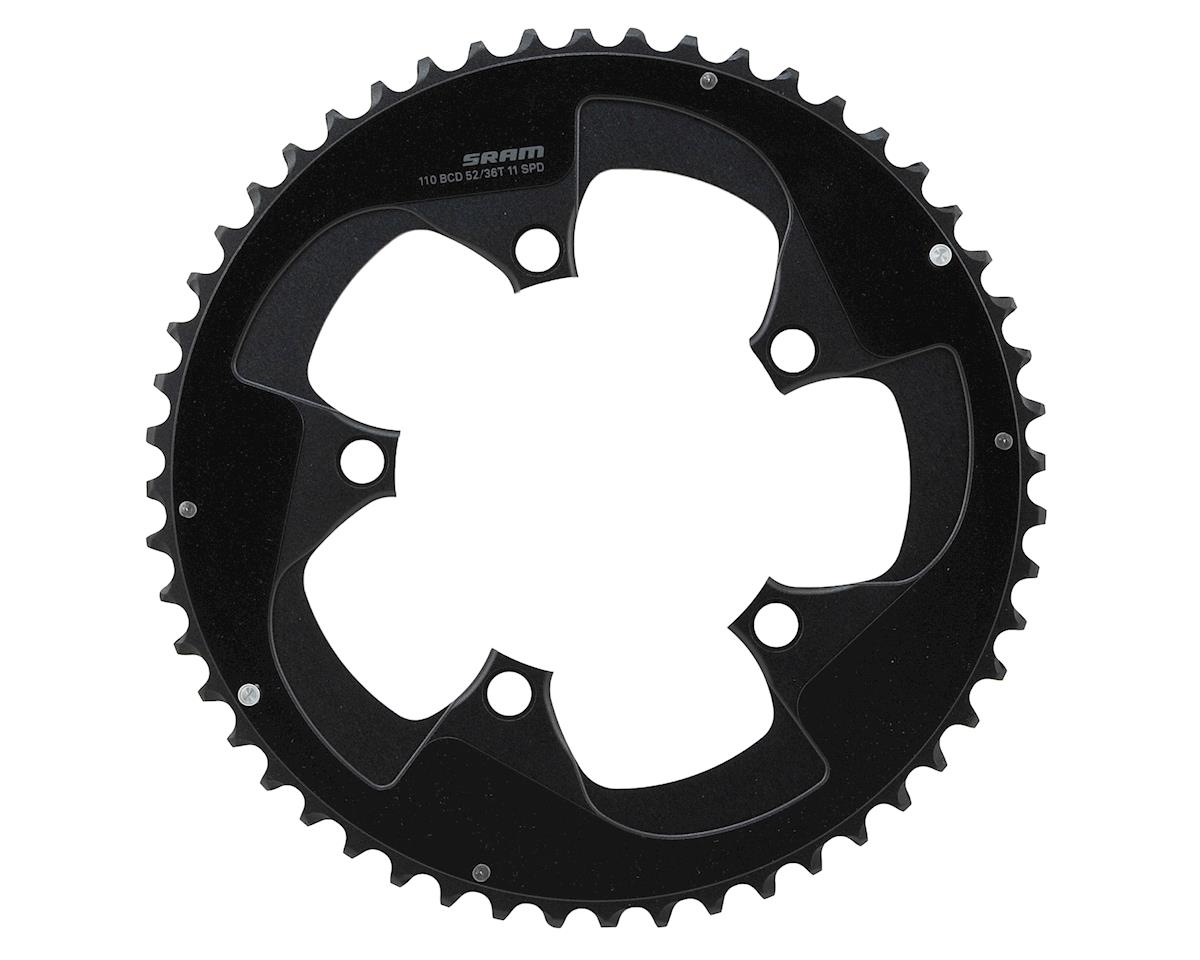 SRAM Red 22 52T x 110mm BCD YAW Chainring with Two Pin Positions, B2