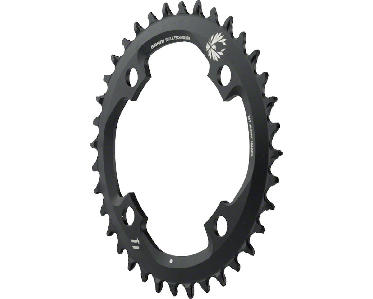 SRAM X-Sync 2 Eagle 11 or 12-Speed Chainring 36T 104mm BCD Black